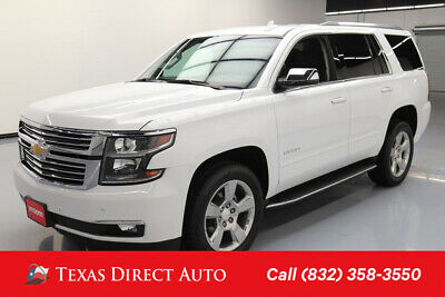 2018 Chevrolet Tahoe Premier Texas Direct Auto 2018 Premier Used 5.3L V8 16V Automatic RWD SUV OnStar Bose