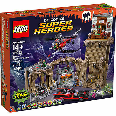 Lego Dc Comics Super Heroes - Batman Classic Tv Series - Batcave (76052)