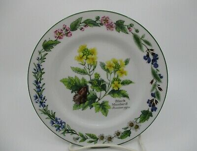 """Royal Worcester - Worcester Herbs - Bread & Butter Plate 6 5/8"""" 0903F"""