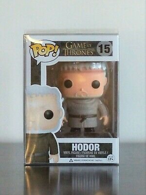 Funko POP Hodor 15 Game of Thrones - With Protector