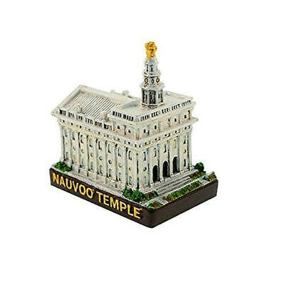 """S51 Nauvoo Temple Replica Mini 2"""" CTR Ring One Moment In Time"""