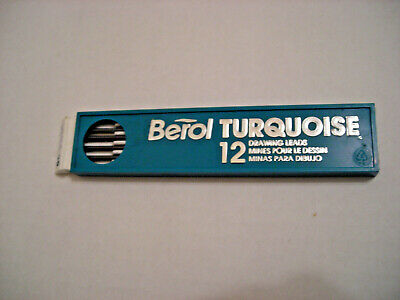 Prismacolor Turquoise Berol Drawing Lead 2mm 12PC Black H