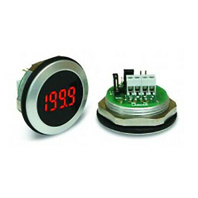 Lascar EM 32-1B-LED 3 1/2-Digit LED Voltmeter w/200 mV DC, Bezel