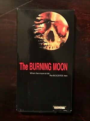The Burning Moon VHS Rare SOV HTF Horror Gore Dead Alive Productions German