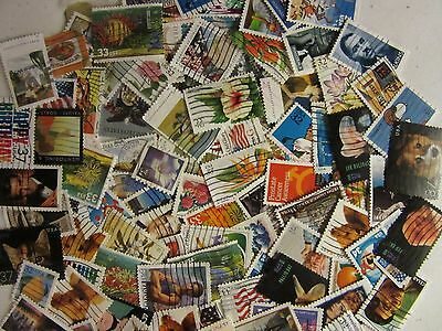 OLD & NEW US stamp lots used ALL DIFFERENT 30 to 39 CENT STAMPS FREE SHIPPING