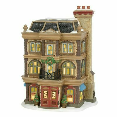 Department 56 Dickens Village 2019 ROYAL BANK OF CORNHILL 6003070 LIMITED Dept