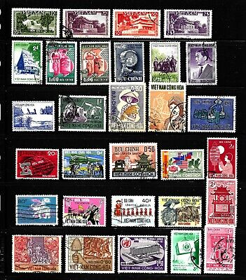 Hick Girl Stamp-Beautiful Old Used   Vietnam   Stamps       X7779