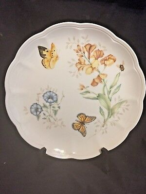 Lenox Butterfly Meadow Monarch Dinner Plate, Safely Stored, Mint