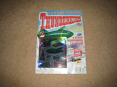Redan Thunderbirds Comic Issue 16 INC. FREE GIFT (from early 2000s)