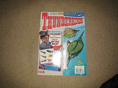 Redan Thunderbirds Comic Issue 3 INC. FREE GIFT (from early 2000s)
