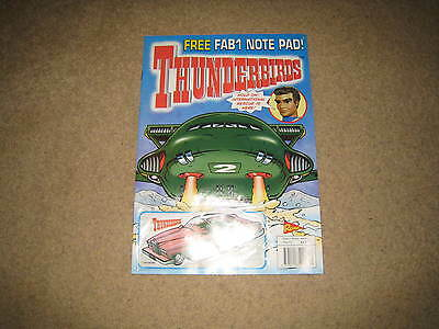 Redan Thunderbirds Comic Issue 12 INC. FREE GIFT (from early 2000s)