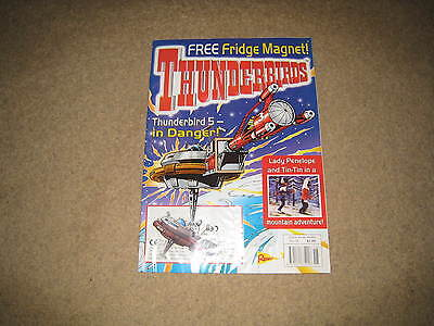 Redan Thunderbirds Comic Issue 18 INC. FREE GIFT (from early 2000s)