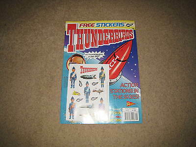 Redan Thunderbirds Comic Issue 9 INC. FREE GIFT (from early 2000s)