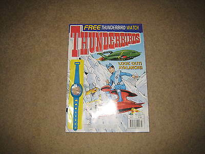 Redan Thunderbirds Comic Issue 7 INC. FREE GIFT (from early 2000s)