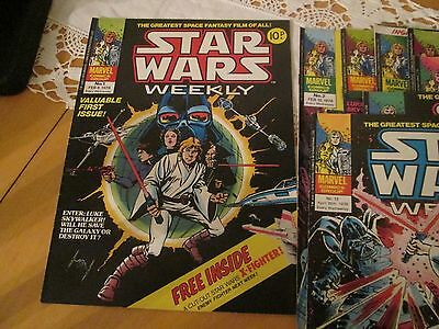 star wars weekly marvel uk comics 1978-