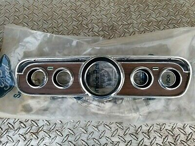 1965 mustang pony instrument cluster NOS