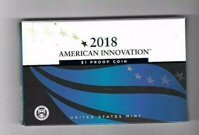 2018 S American Innovation  $1 Proof Coin WITH US MINT PACKAGING