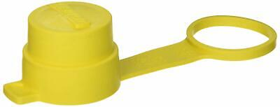 Leviton 28W Cap For All 30A Wetguard Locking Plugs, IP66, Yellow