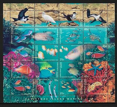 1998 Marine Life Mini Sheet Complete MUH/MNH as Issued