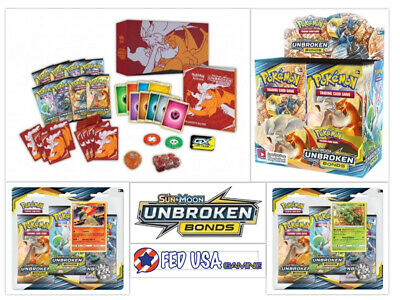 Pokemon Unbroken Bonds ULTIMATE TRAINER KIT Booster Box + Elite + 2 Blisters