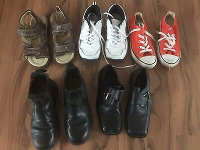 Various Boys Shoes (Size 1 & 2)