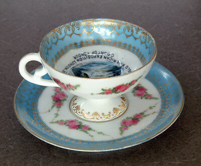 Cup & Saucer set from the Anglo American Exposition London 1914 'World's Fair'