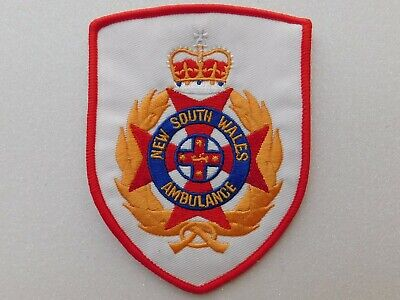 New South Wales Ambulance - Red & White Patch Social / Not Official