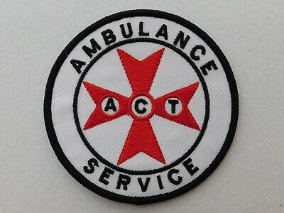 ACT Ambulance Service Patch Social / Not Official