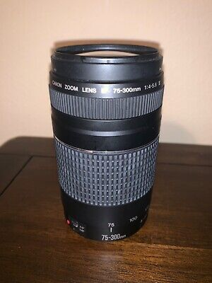 Canon zoom lens ef 75-300mm 1:4-5.6 iii