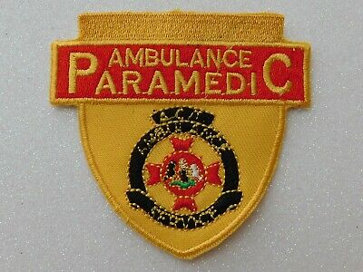 ACT Ambulance Paramedic Patch Social / Not Official