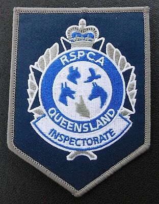 Queensland RSPCA patch - Collectors Patch Not Official