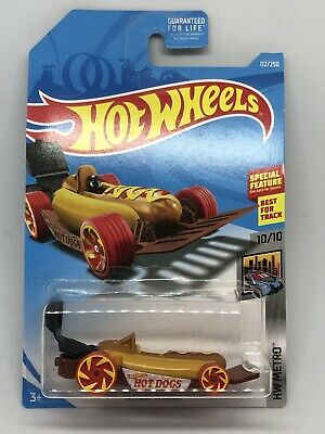 Hot Wheels 2019 HW Metro Series STREET WIENER HOT DOG Car w/Grille #112