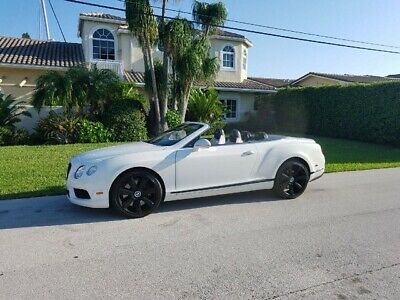 "2013 Bentley Continental GT GTC 2013 GTC CONVERTIBLE ONLY 11K MILES 21"" BENTLEY WHEELS  NAIM SOUND SYSTEM"