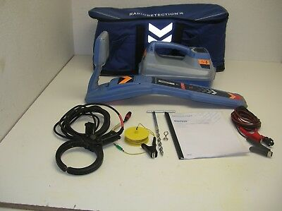 Radiodetection RD7100 TL 5 watt FF 7000 Underground Utility Cable Pipe Locator