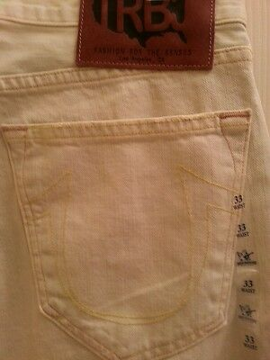 5bc7101d MEN'S TRUE RELIGION Roman Phoenix Chino Khaki Pants Size 33 NEW ...