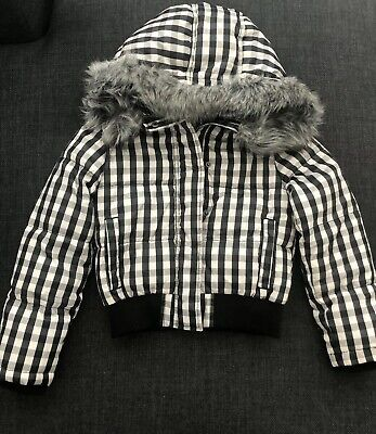 Girls Country Road Puffer Jacket Size  6-7