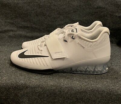 0a4141a0190e Nike Romaleos 3 Weightlifting Crossfit Training White Black 852933-100 Size  13