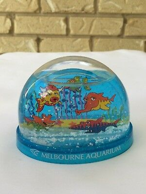 Snow Globe Dome Travel Souvenir From Melbourne Aquarium