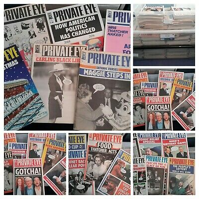 Private Eye Job Lot Bundle Of 590 Issues from 80's 90's and 2000's Collection