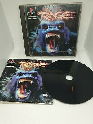Primal Rage for Sony Playstation PS1 Complete - PAL Rare! | Free Post