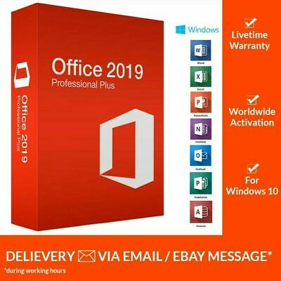 MICROSOFT OFFICE 2019 PRO PLUS 32/64-bit PRODUCT KEY OFFICIAL DOWNLOAD LINK