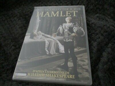 """EDITION COLLECTOR 2 DVD NEUF """"HAMLET"""" Laurence OLIVIER, Jean SIMMONS"""