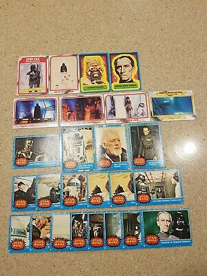 Topps Star Wars 1977 and 1980 Collector Cards Bundle