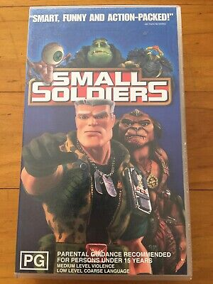 Small Soldiers (Kirsten Dunst) Vhs Video