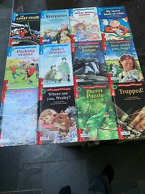 Read With Ladybird: Set Of 12 Books Level 3 & 4 - Practise Reading Hb