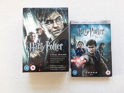 Harry Potter - The Complete Collection 1-8 Dvd Bundle - Free Post