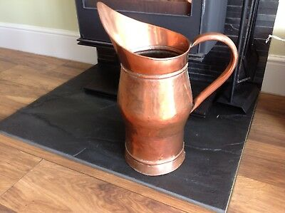 Vintage French large Copper stick / Umbrella stand /Jug/ Country House Style