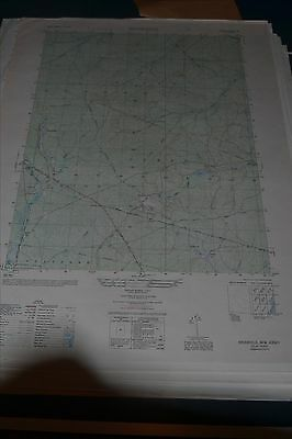 1940's Army (like USGS) topo map Brookville New Jersey 6163 IV SE w Aerial Photo