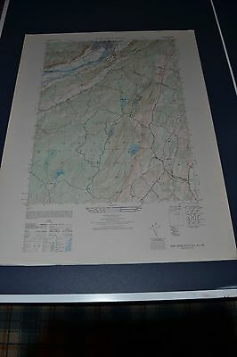 1940's Army (like USGS) topographic map Port Jervis South NY,  NJ 6066 I SW