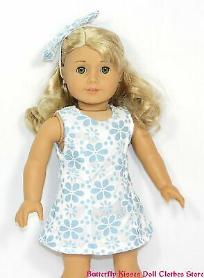 93aaf67914cf Daisy   Lace Sun Dress + Headband 18 in Doll Clothes Fit American Girl